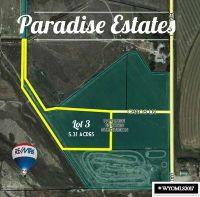 Home for sale: Lot 3 Paradise Estates Subdivision, Riverton, WY 82501