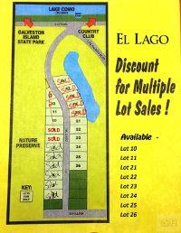 Home for sale: 11 El Lago, Galveston, TX 77554