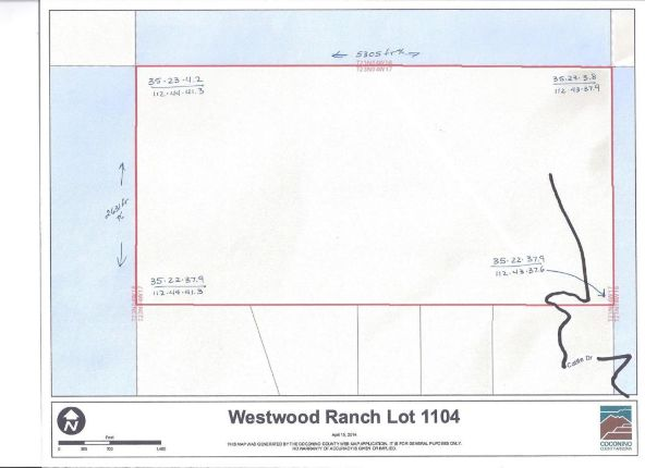1104 Westwood Ranch Lot 1104, Seligman, AZ 86337 Photo 34