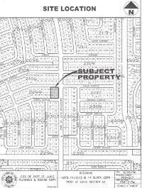Home for sale: 810 S.W. Haas Avenue Sw, Port Saint Lucie, FL 34953